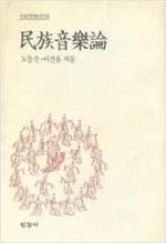 민족음악론 - 한길문학예술총서 3 (알집71코너)