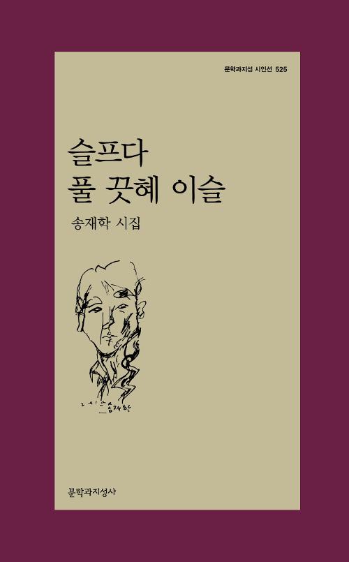 슬프다 풀 끗혜 이슬 - 송재학 시집 - 초판 (알문1코너)